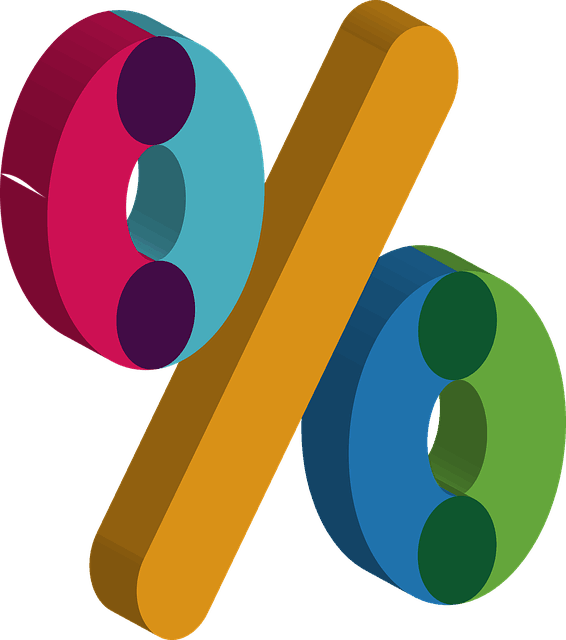 Percent Symbol Clolored